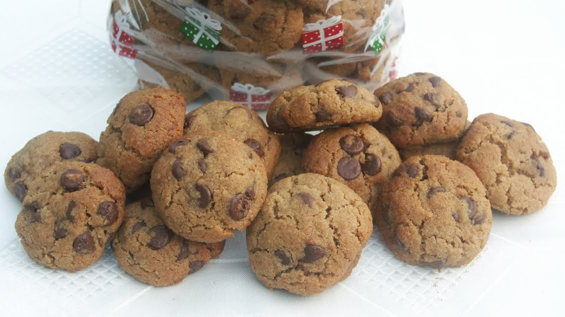 Hazelnut-Butter Cookies With Mini Chocolate Chips Recipes — Dishmaps