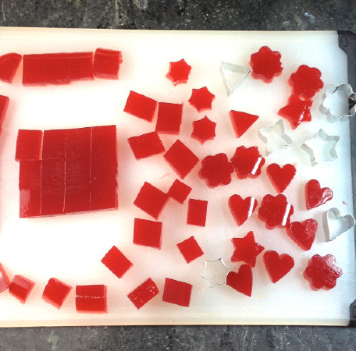 Hibiscus Jell Cutouts | Flamingo Musings