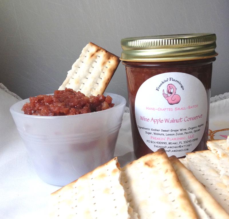 Passover Charoset: Wine Apple Nut Jam