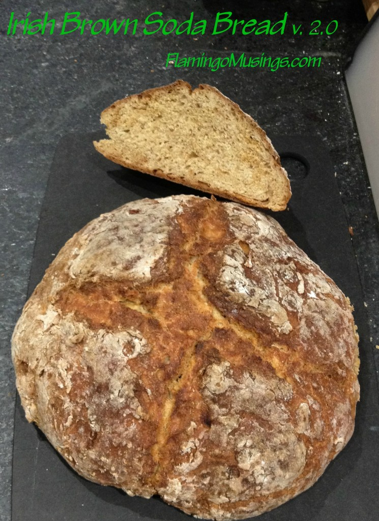 Irish Brown Soda Bread v2.0 | Flamingo Musings